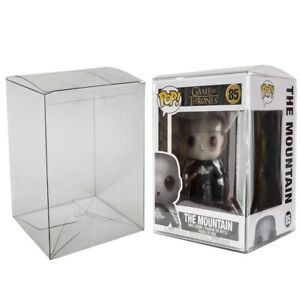 Plastic Box Protector Cases for Funko Pop 6quot; Inch Vinyl Clear .50mm Thick $7.58