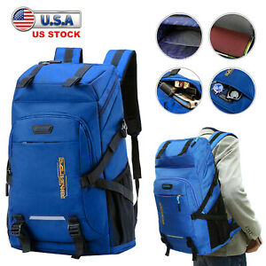 50L Hiking Rucksack Camping Backpack Outdoor Travel Sports Backpacking Bag Pack
