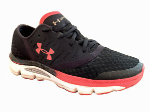 Under armour shoes womens 8 Black And Pink tennis Running Jogging $21.12