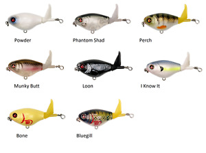 River2Sea Whopper Plopper 60 Topwater Bait Choice of Colors