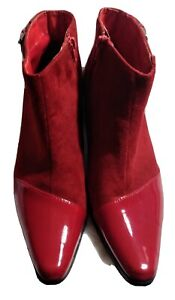 Ashro Red Boots Size 9M