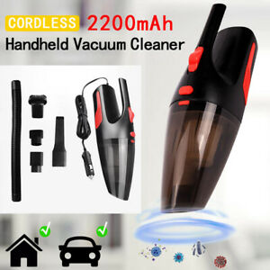 Car Vacuum Cleaner 12V With 120W For Auto Mini Portable Wet Dry Handheld Duster $8.99