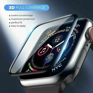 Tempered Glass Screen Protector For Apple Watch iWatch 6 5 4 3 SE 38 40 42 44 mm