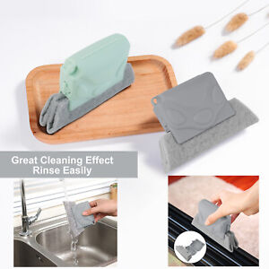 Creative Window Cleaning Brush Groove Door Track Cleaning Gap Cleaner Kitchen US $5.92