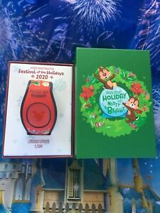 Disney 2020 Epcot Festival Of The Holidays Chip amp; Dale Magic Band LE1500 New $54.89