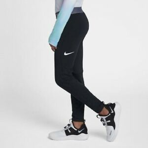 NWT Nike Girls Youth Pro Dri FIT Warm Training Tights Black S Small 939006 $45 $19.99