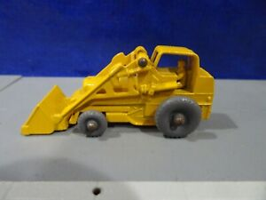 OLD MATCHBOX LESNEY WEATHERILL HYDRAULIC # 24 CONSTRUCTION LOADER METAL WHEELS $30.00