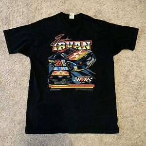 Vintage 1997 Nascar Ernie Irvan Single Stitch T Shirt Size XL