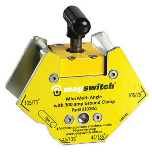 Magswitch 8100351 Welding Angle150 Lb. Max. PullSteel $47.99