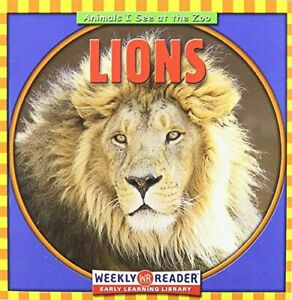 Lions Animals I See at the Zoo by Macken JoAnn Early Paperback