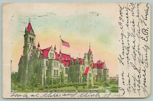 Pennsylvania College Hall 1905 Postcard $2.00