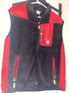 Spyder Youth Vest Youth XL Red amp; Black Size 18 Pre Owned