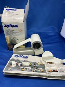 ZYLISS Swiss Hard Cheese Rotary Hand Grater Fine White 11202 $23.98