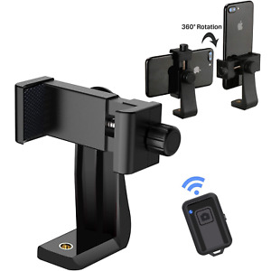 Cell Phone Tripod Adapter Holder Universal Smartphone Mount For iPhone Samsung $7.75