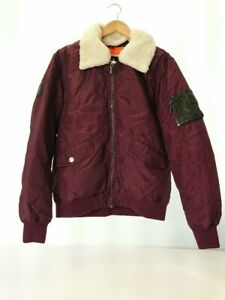 Two Angle Two Angle Ma 1 Flight Jacket L Polyester Brd $139.55
