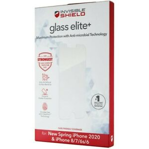 Invisible Shield Glass Glass Elite Antimicrobial for iPhone SE 8 7 6s 6