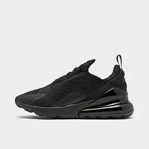 Nike Womens Air Max 270 Comfortable Athletic Shoes all Black $110.00