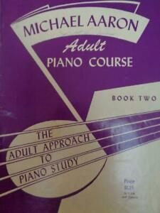 Michael Aaron Adult Piano Course Book Two Piano Sheet Music Book $0.99