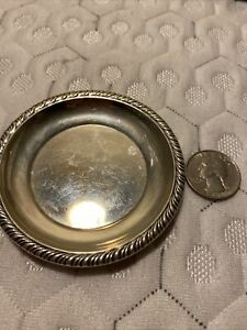 *Vintage Small Hallmarked Sterling Silver Dish Tray 17.9 Grams