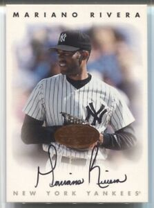 1996 Mariano Rivera Leaf Signature Series AUTO BRONZE Autograph New York Yankees $134.99