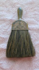Vintage Small Whisk Broom Clothes Brush Crumb Brush Metal Handle