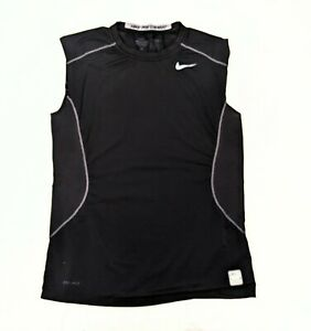 Mens Nike Pro Combat Fitted Compression Shirt Size Medium Dry Fit $9.99