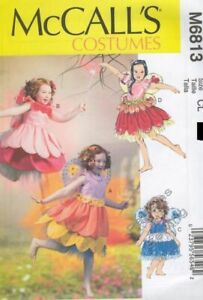 Pattern McCall#x27;s Sewing Girls#x27; Costumes Fairy SIZE 6 8 $4.50