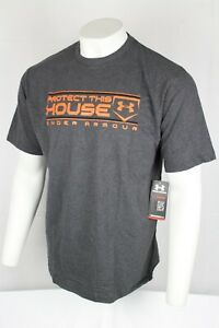 Under Armour Mens Baseball Protect This House Loose Fit Shirt XL Grey 1237598 $21.99