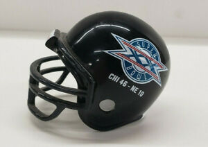 1985 Chicago Bears Super Bowl XX 2quot; Pocket Pro Micro Helmet w Final Score