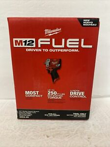 """Milwaukee 2554 20 M12 Fuel 3 8"""" Stubby Impact Wrench Tool Only NEW $155.00"""