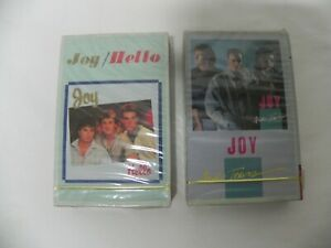 Joy Hello And Tears 1986 amp; 1987 Korea Cassette Tape SEALED NEW
