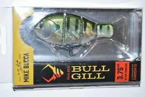 Catch co mike bucca#x27;s baby bull gill swimbait 3.75quot; slow sinking natural gill