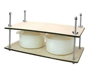 Сheese Making Kit 16 in Metal Guides Cheese Press 2 Cheese Making mold 1.2 $47.34