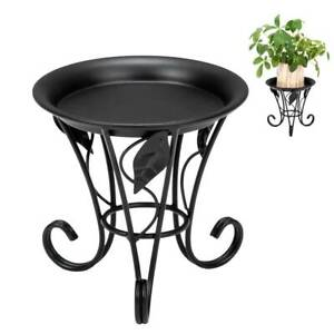 New Metal Outdoor Indoor Pot Plant Stand Garden Decor Flower Rack Patio Balcony $16.99