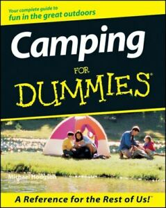 For dummies: Camping for dummies by Michael Hodgson Paperback softback
