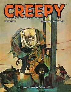 Creepy Archives Volume 10 Hardcover Book Dark Horse Archives Sealed $28.95