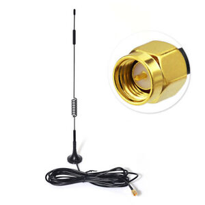 4G LTE SMA Antenna Magnetic Base Antenna For Mobile Cell Phone Signal Booster $6.39