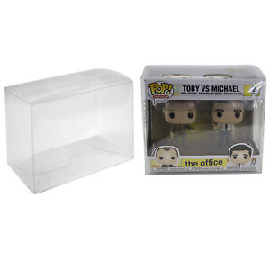 Plastic Box Protector Cases for Funko Pop 2 Pack or VYNL Figures Clear PET $8.54