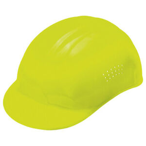 Erb Safety 67 Vented Bump CapHi Vis YellowPinlock $4.29