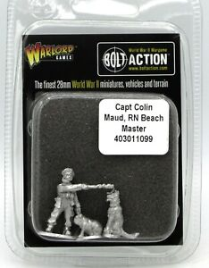 Bolt Action 403011099 Captain Colin Maud RN Beach Master British Navy WWII