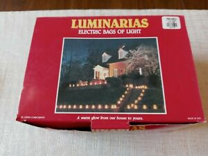 Luminarias Electric Bags of Light 10 All Weather Casa Noel Albuquerque NM