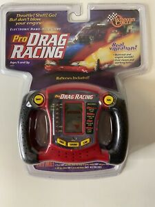 NIB Winners Circle PRO DRAG RACING ELECTRONIC HANDHELD GAME Rare Mint $90.00