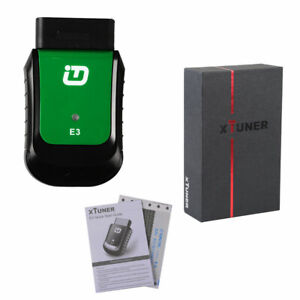 XTUNTER E3 OBDII Full Diagnostic Tool works with Windows XP NEW $259.80