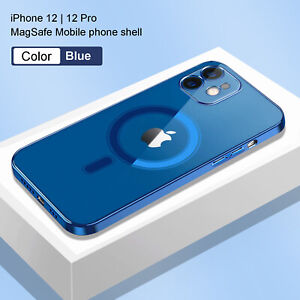 Clear Magnetic Case Mag Safe Cover For Apple iPhone 12 Pro Max 12 Mini 11 ProMax $15.09