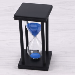 1 Pc Hourglass Sand Timer Blue Sand Glass Sand Clock for Office Restaurant Home $16.81