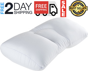 Cumulus Micro Bead Pillow Polyester Spandex Non Removable Cover Comfort Support