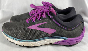 Brooks Womens Purple Pure Cadence 7 Road Running Shoes Size 8 $24.99