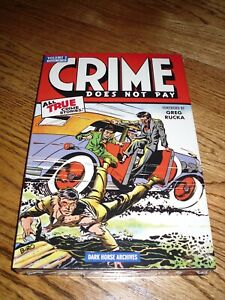 Crime Does Not Pay Volume 2 Hardcover Book Dark Horse Archives Sealed $18.95