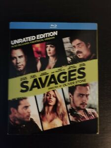 Savages Blu Ray No Digital With Slipcover $5.95