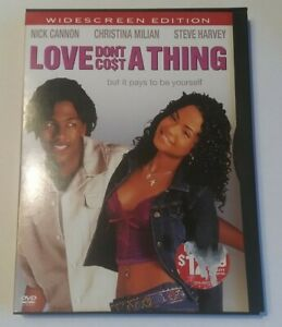 Love Dont Cost a Thing DVD 2004 Widescreen $1.49